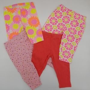 Other - Set of 4 leggings 9m
